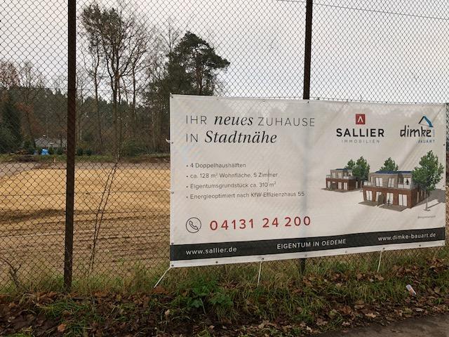 Neubau von 4 Doppelhaushälften in Oedeme – Dimke Bauart